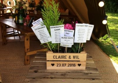 Table plan inspiration norfolk