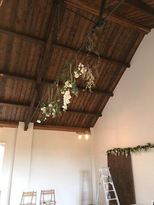 Hanging flowers Norfolk