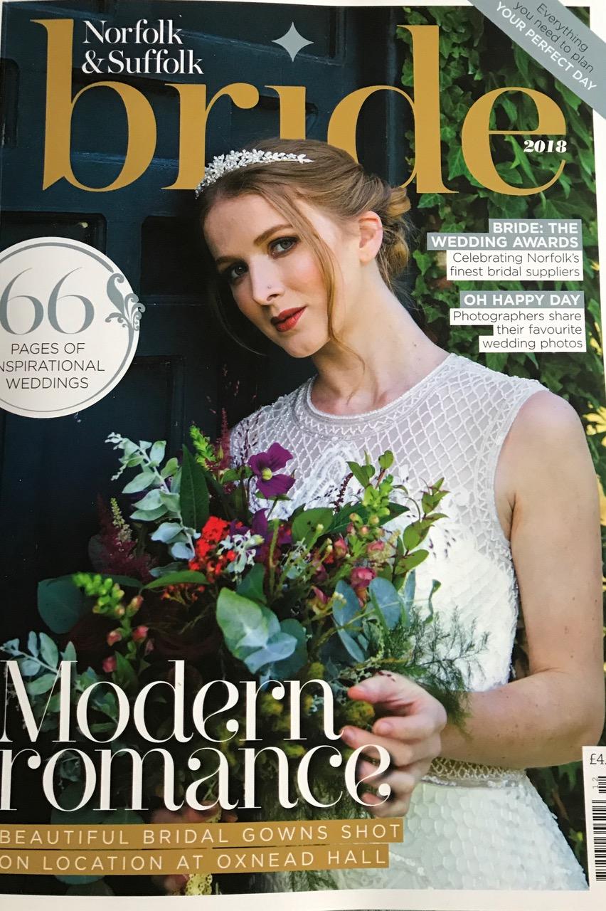 Wedding Planning advice in Norfolk or Suffolk, local magazine coverage.