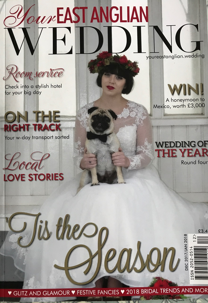 Planning a wedding in Norfolk or Suffolk, local magazine coverage with advice