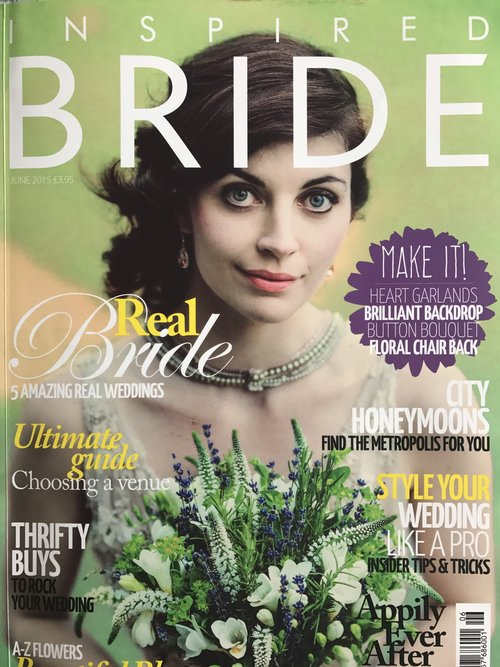 Inspiring & creative Wedding Planner Norfolk and Suffolk, magazine coverage