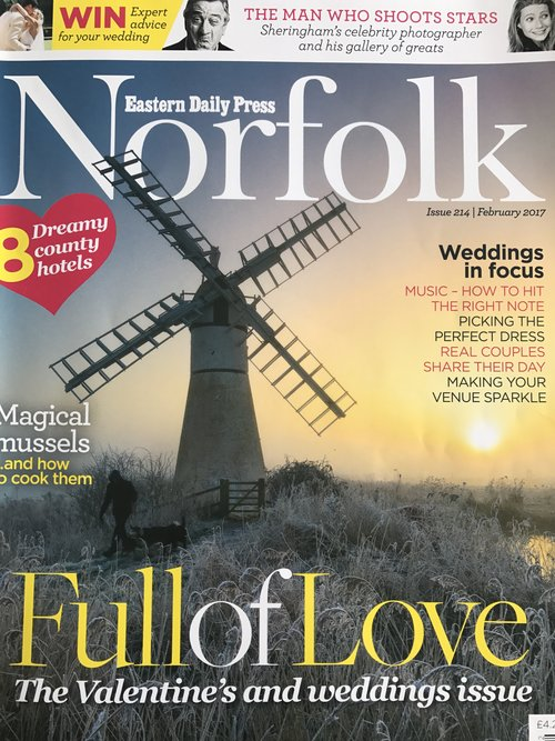 Wedding Planner Norfolk and Suffolk, magazine coverage