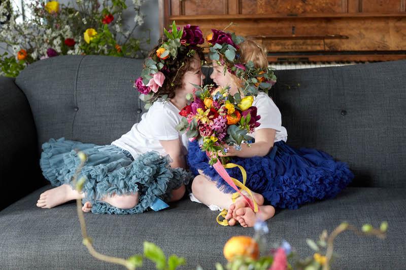 spring flowergirls