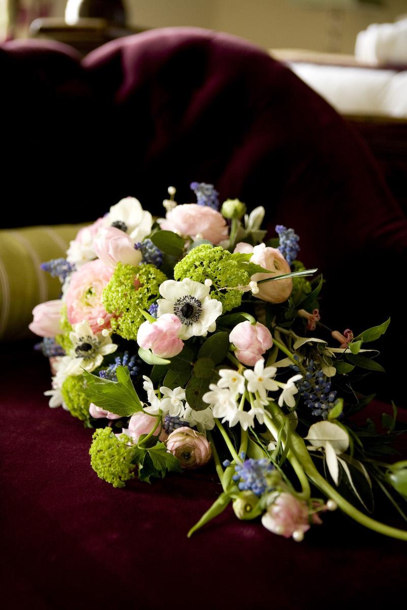 Spring bridal bouquet Norfolk