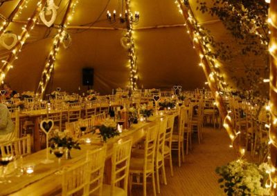 Tipi wedding Norfolk