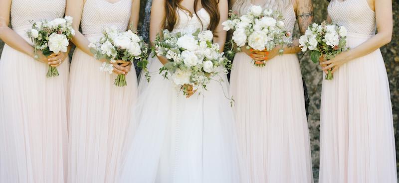 Bridal bouquet, british flower week, white peonies