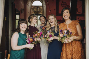 Spring bridesmaids Norfolk