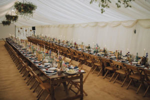 Voewood wedding marquee