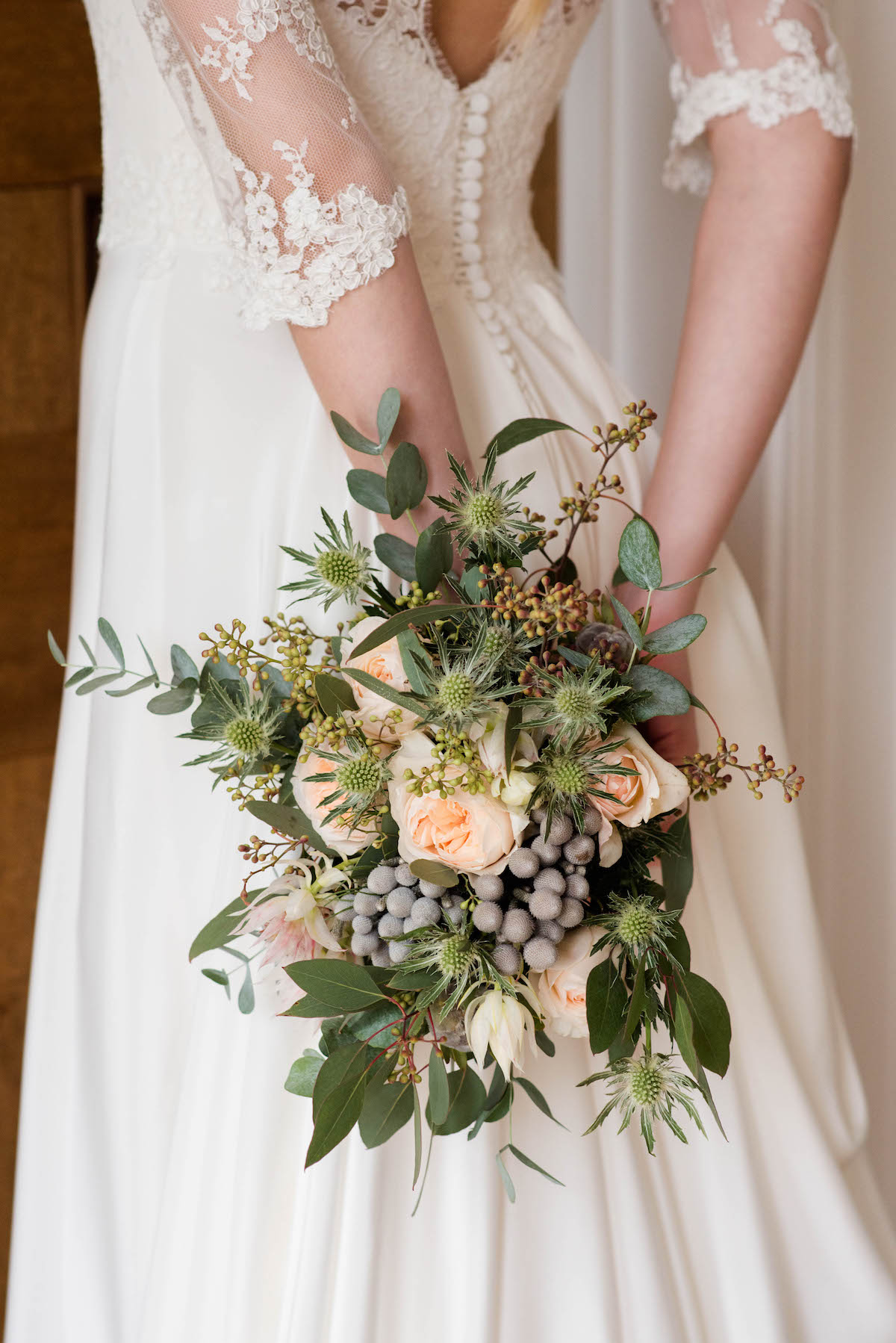 ELEGANT BRIDAL BOUQUET NORFOLK