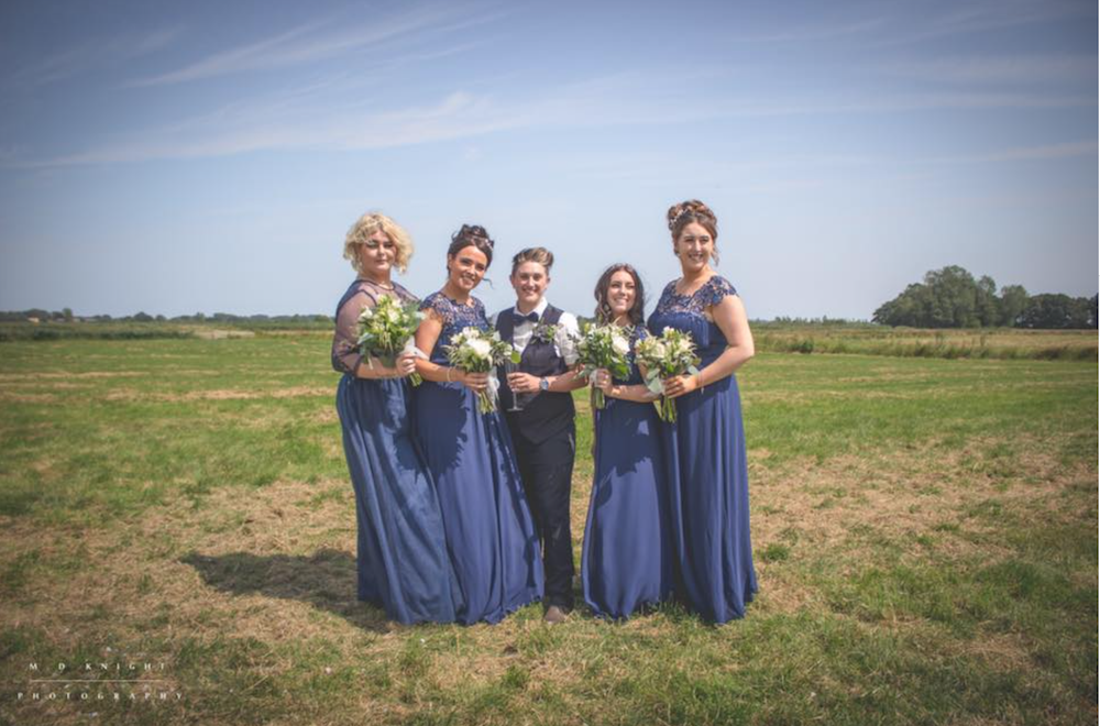 Hall Farm wedding