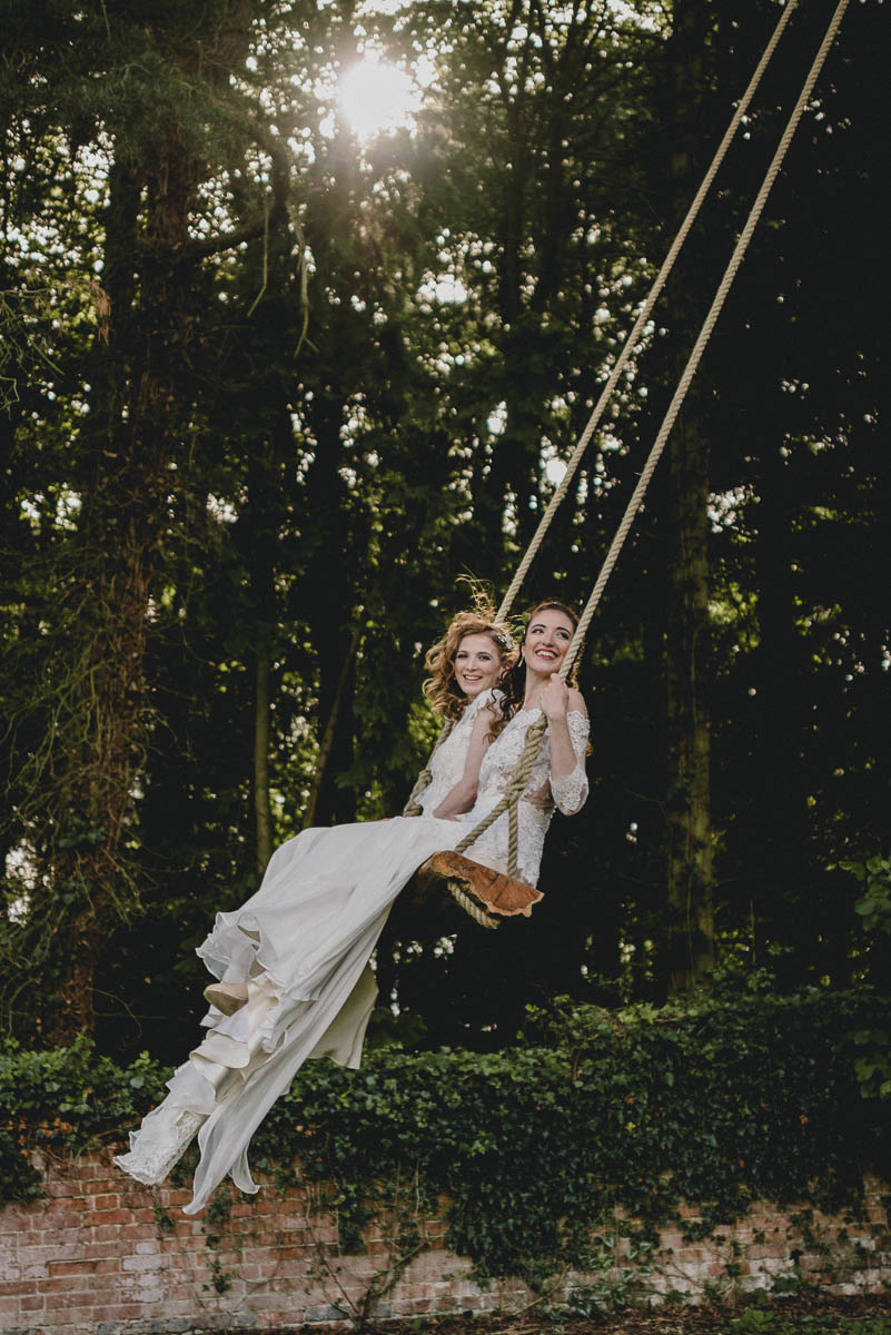 wedding swing