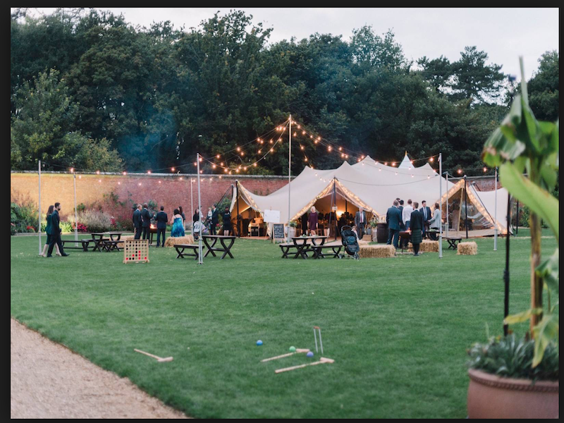 Holkham Hall Marquee