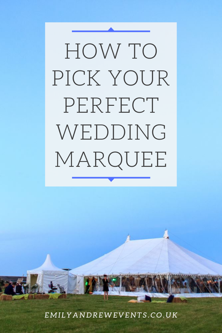 Wedding Marquee Types