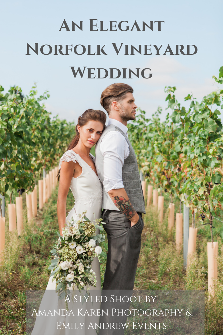 Norfolk vineyard wedding