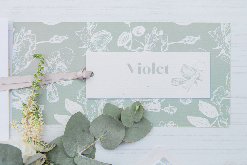 Wedding luggage label
