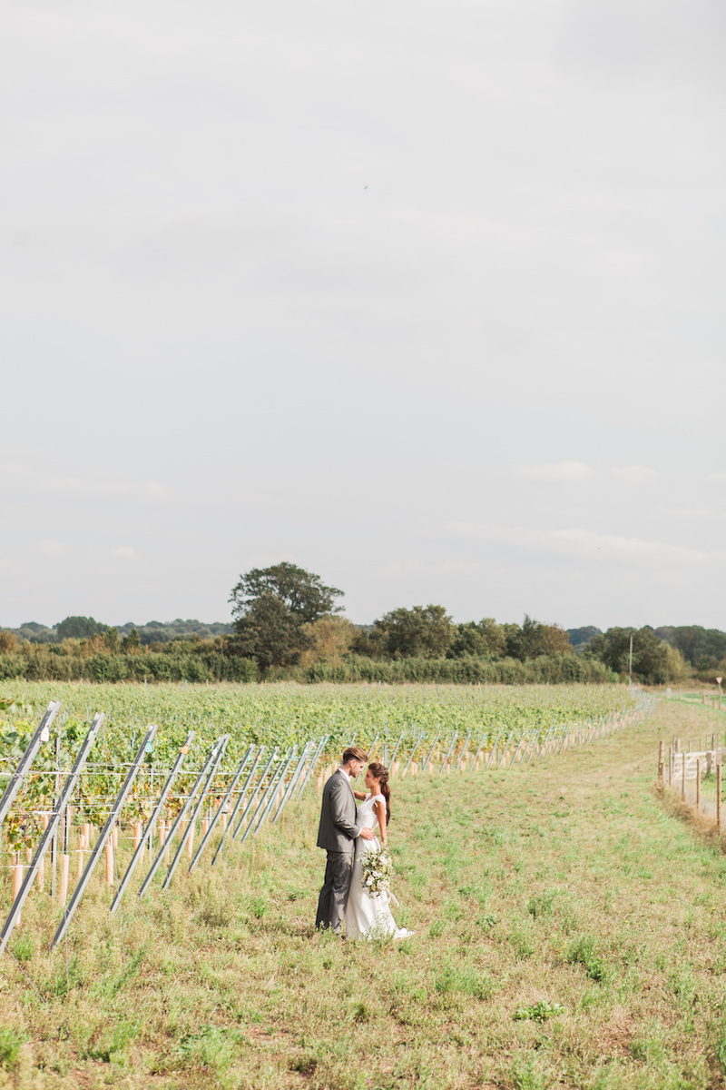 Outdoor Norfolk wedding