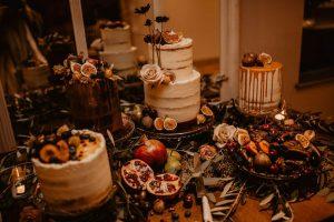 COVID wedding cake
