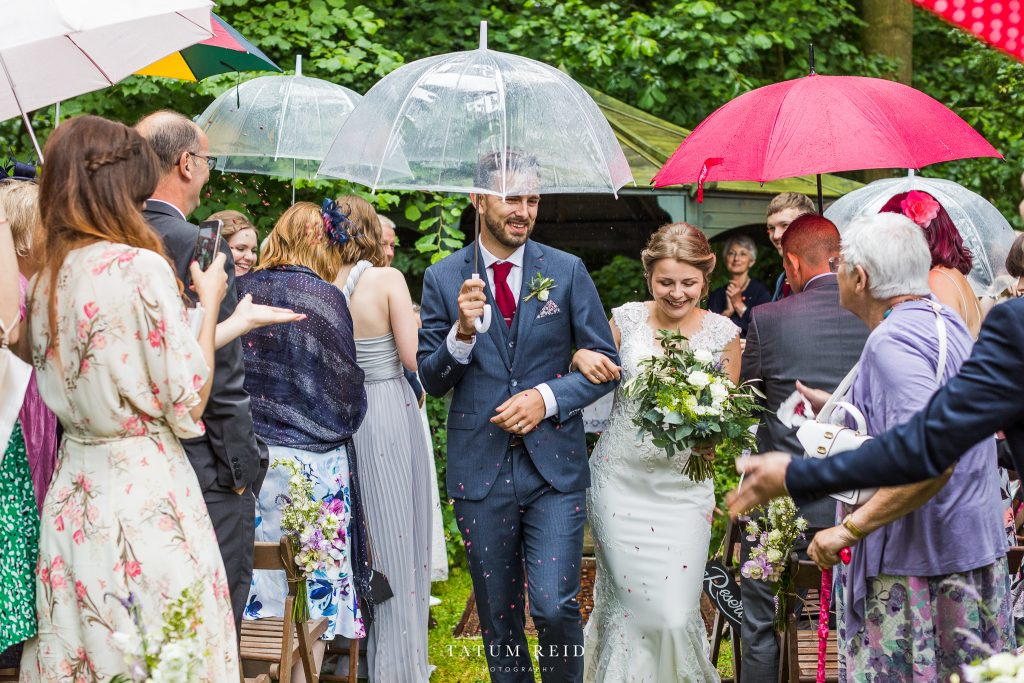 Wet wedding COVID-19