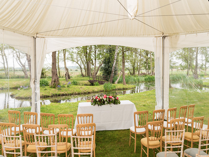 Norfolk Wedding Ceremony Marquee