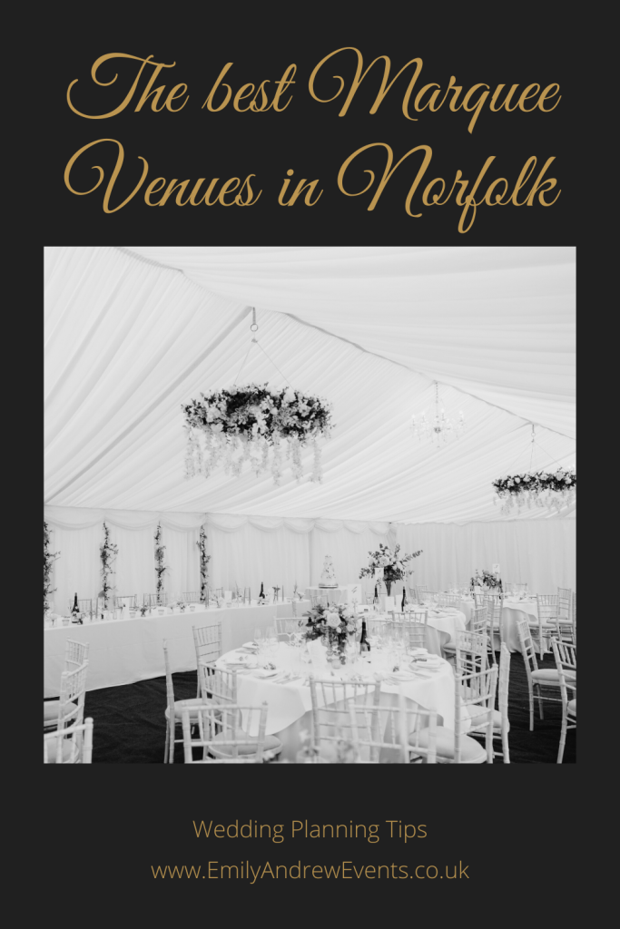 Norfolk marque wedding