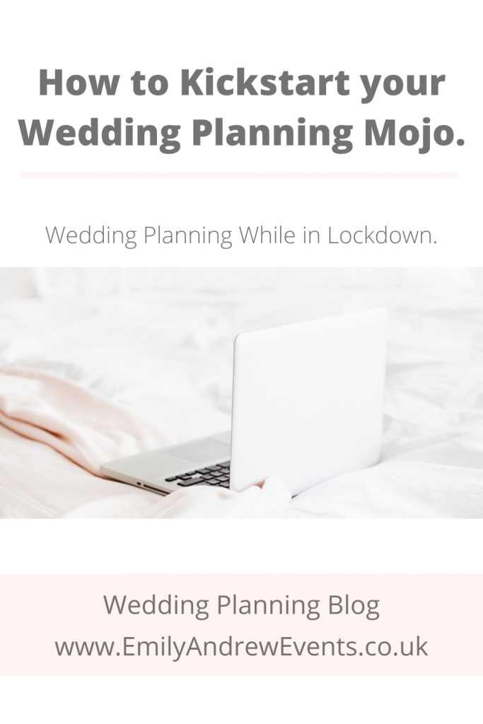 wedding planning in cover lockdown