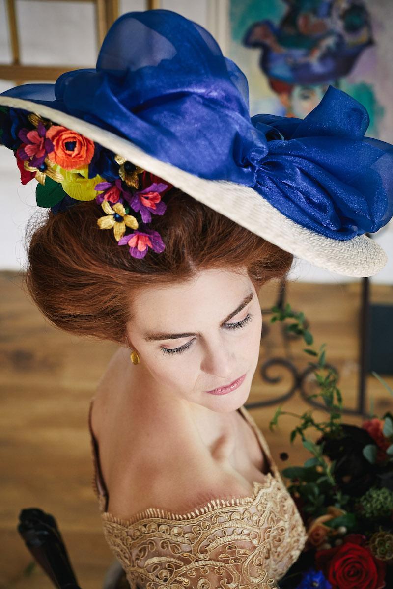 edwardian bridal style