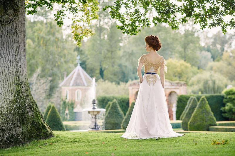 Edwardian style bride