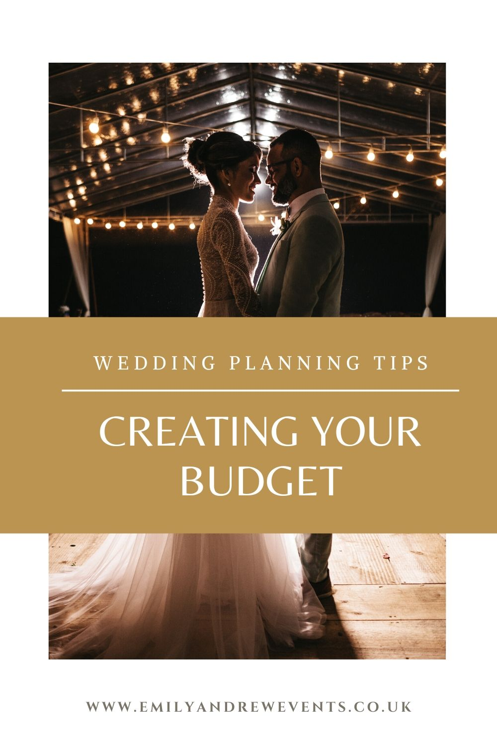 creating your own wedding budget