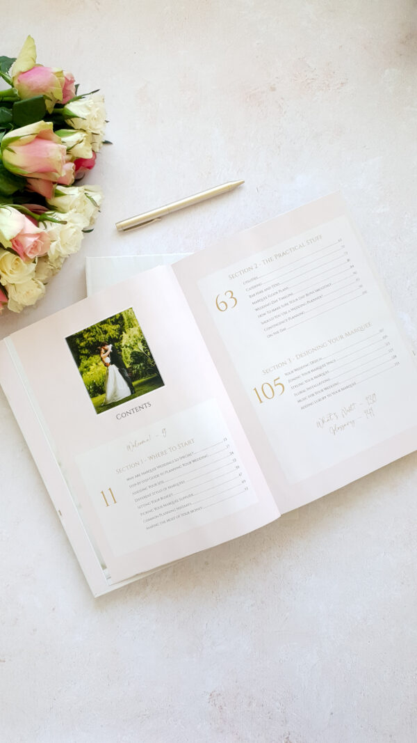 Marquee book contents