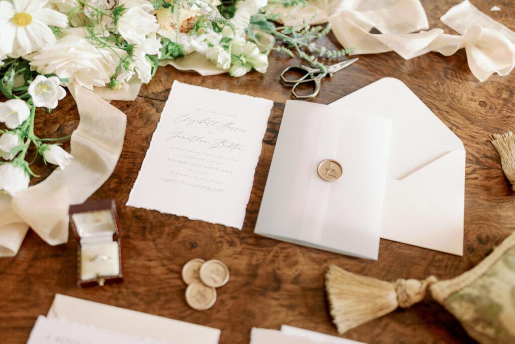 luxury wedding stationery