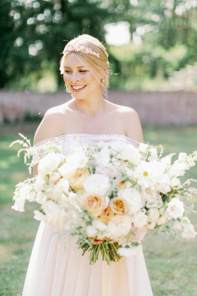 luxury wedding bouquet norfolk