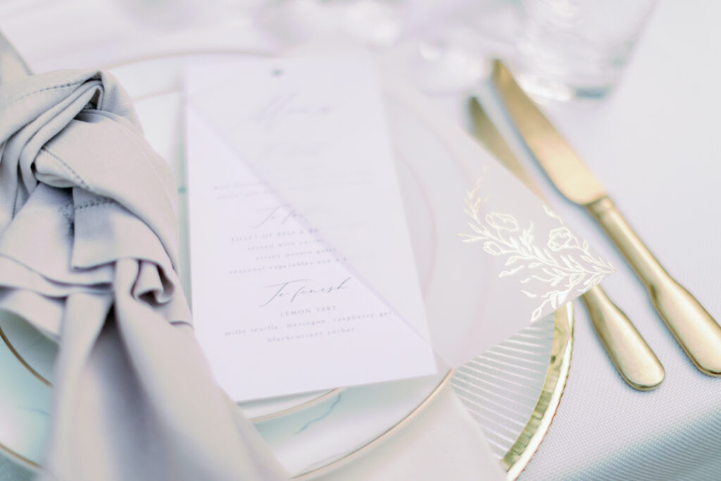 luxurious wedding design