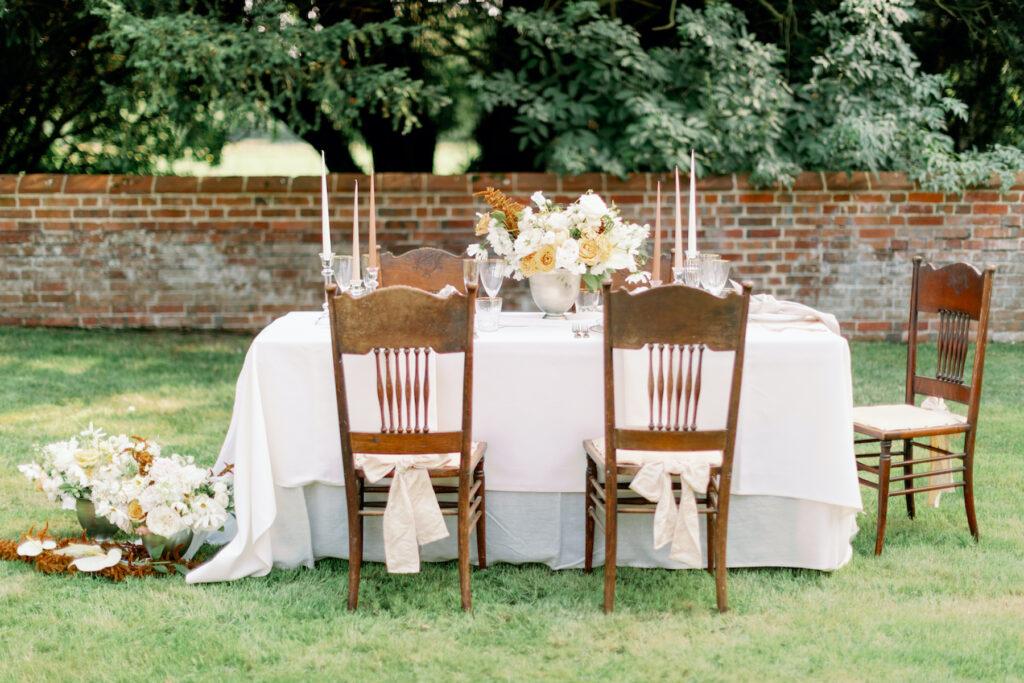 decadent wedding tables cape