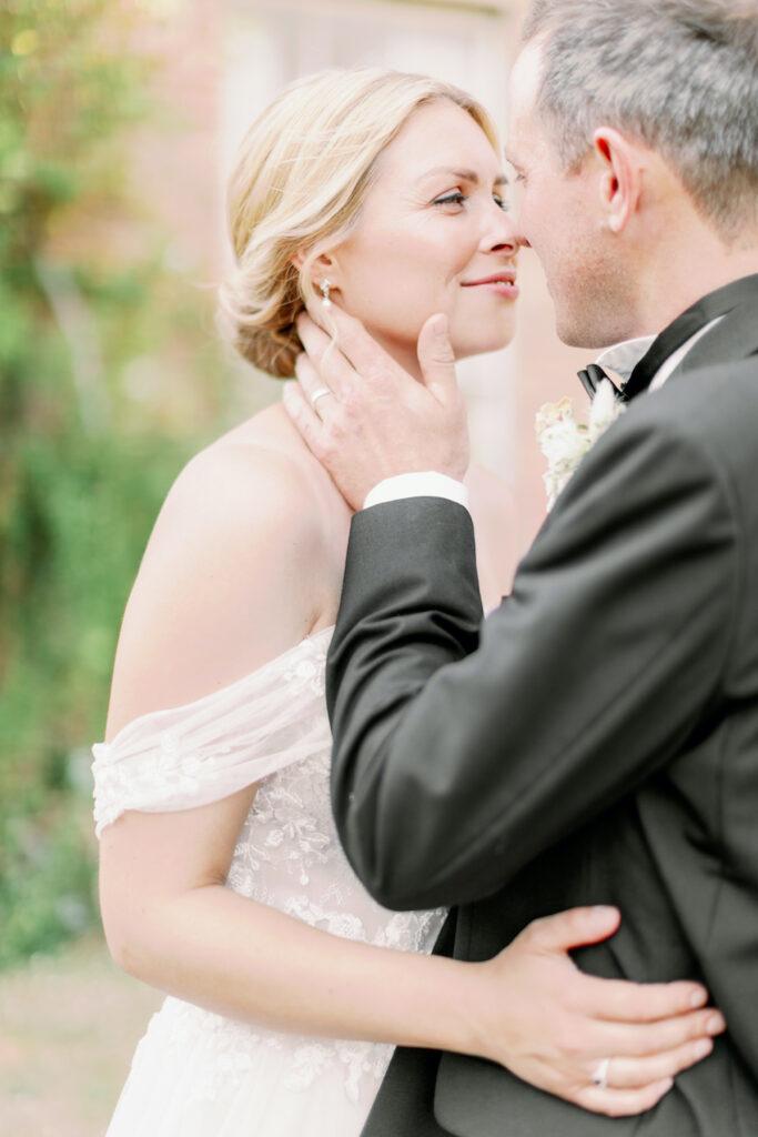happy couple luxury norfolk wedding